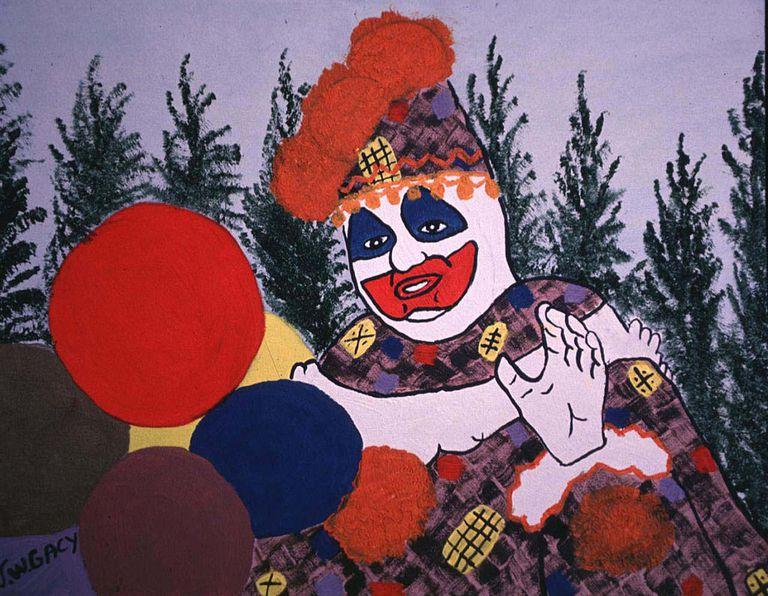 John Wayne Gacy - Original Artwork Exhibition at Club USA