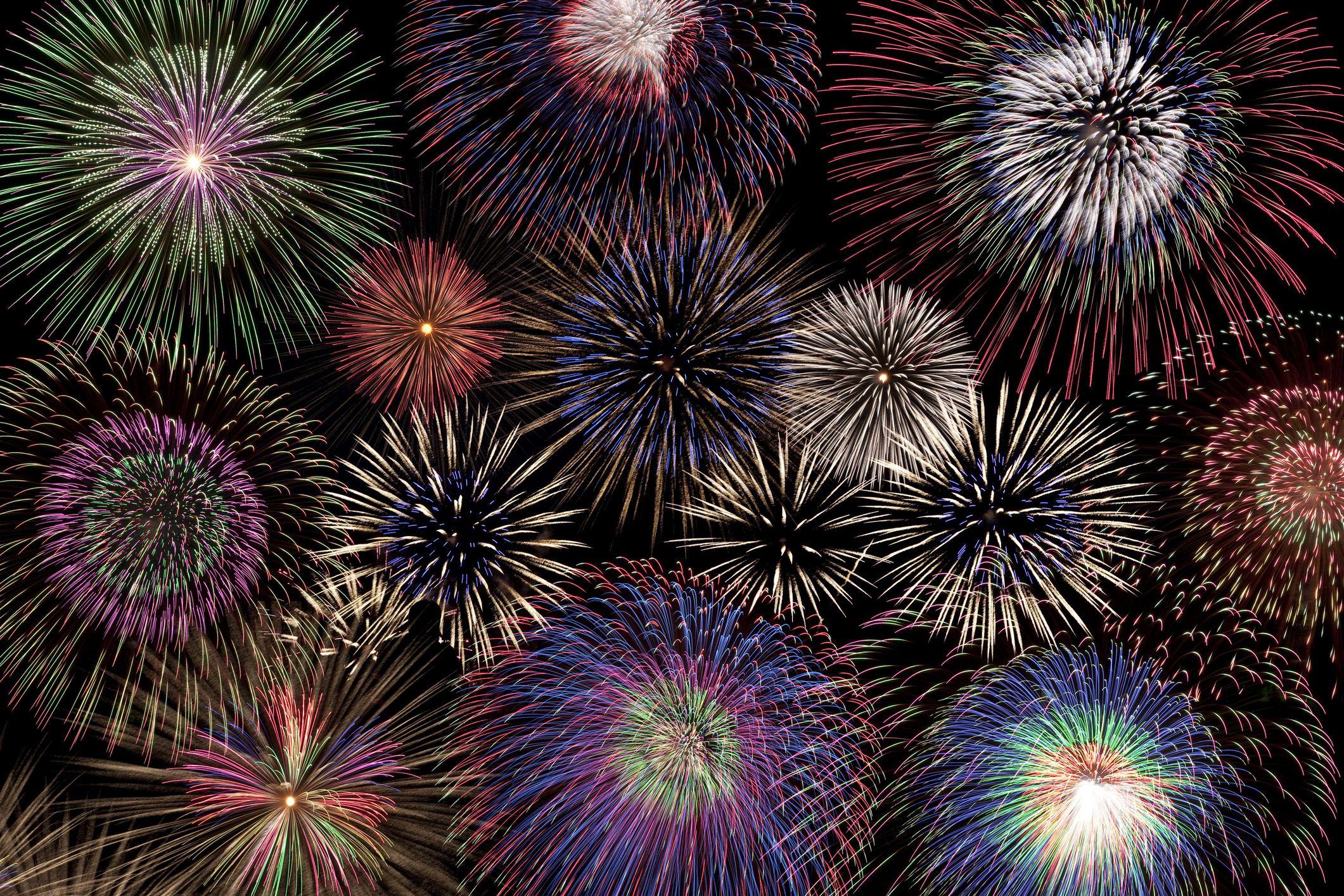 Fireworks Paint Art