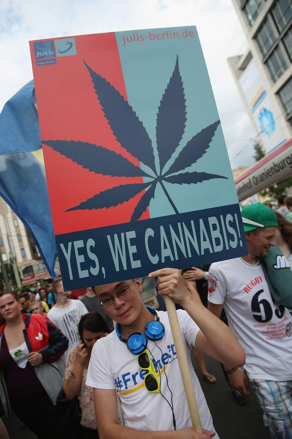 Legalize Marijuana Demonstration