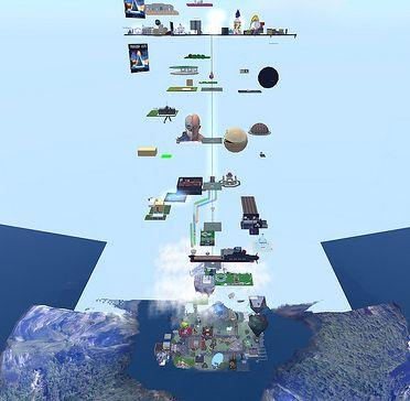 Tierra que se abre y aparece todo tipo de conocimiento