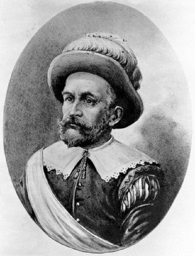 Peter Minuit - Leader of New Sweden Company that founded Delaware Colony.