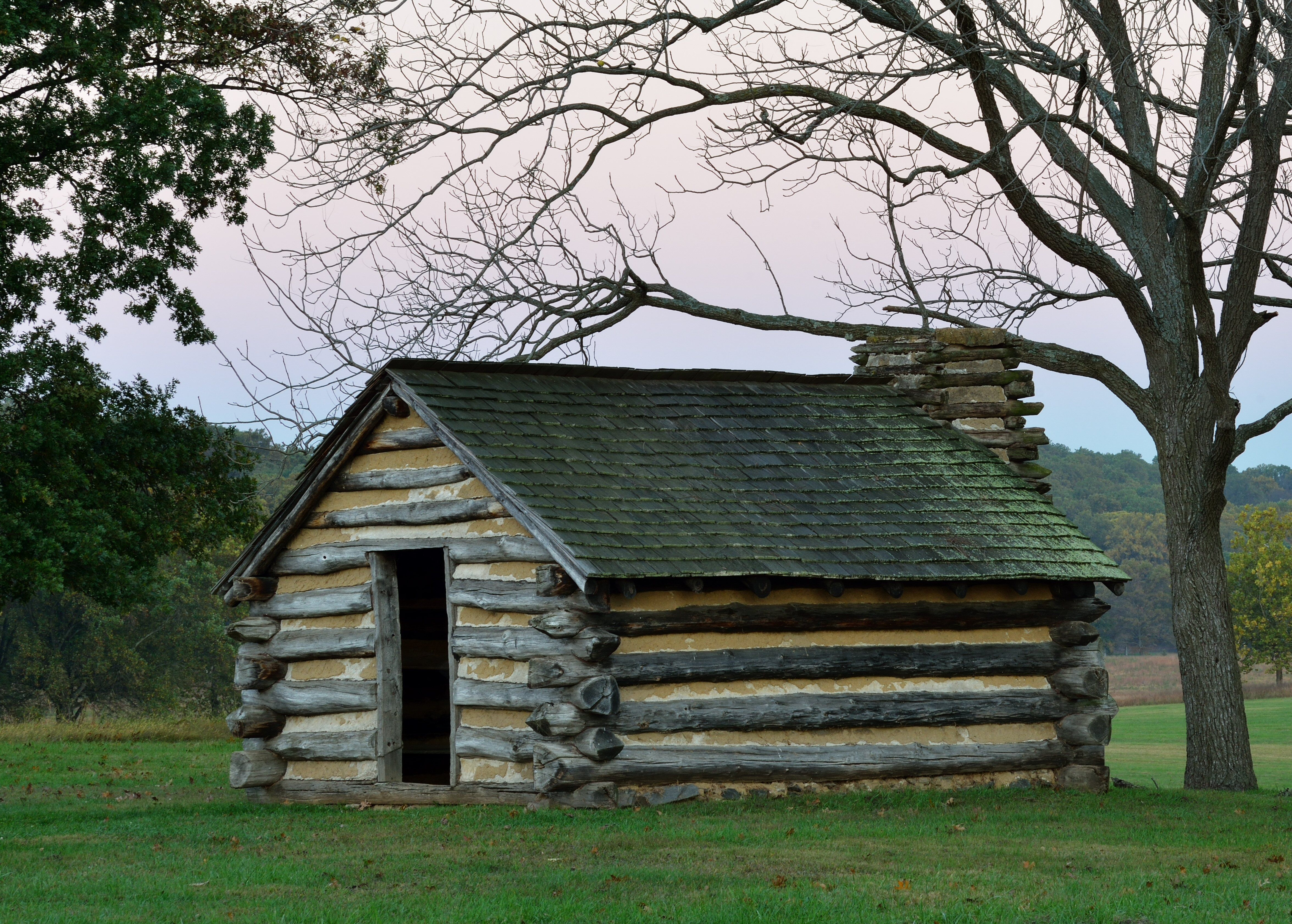 The Architecture Of The Log Cabin