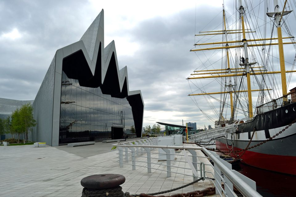 Clydeside view of Riverside Museum