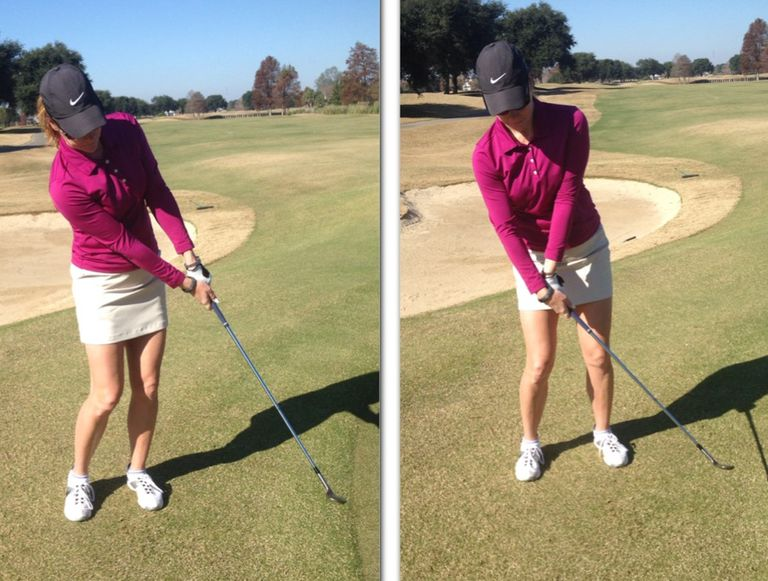 how to avoid shanking chip shots