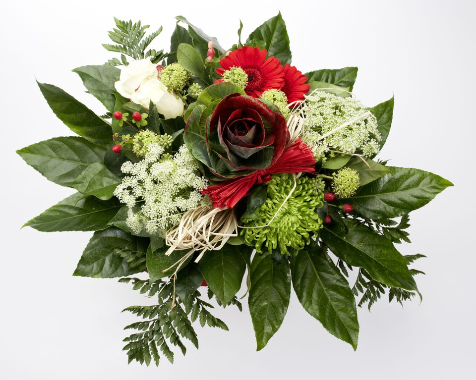 Christmas Bridal Bouquet