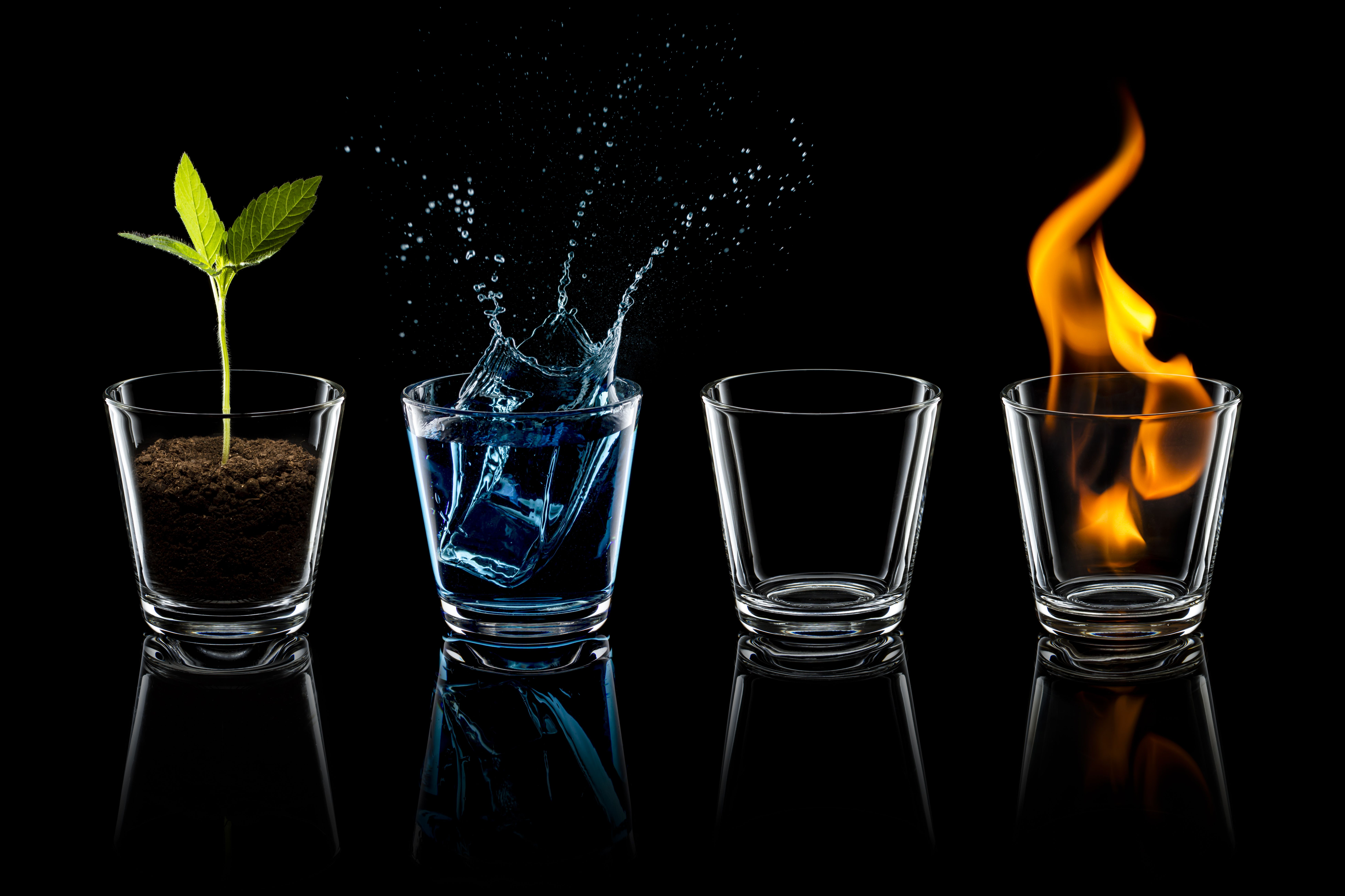 empedocles explanation of the four elements The most prominent of them are (i) the four elements, (ii) the two motive forces, (iii ) the  sextus seems to have very well captured the meaning of empedocles'.
