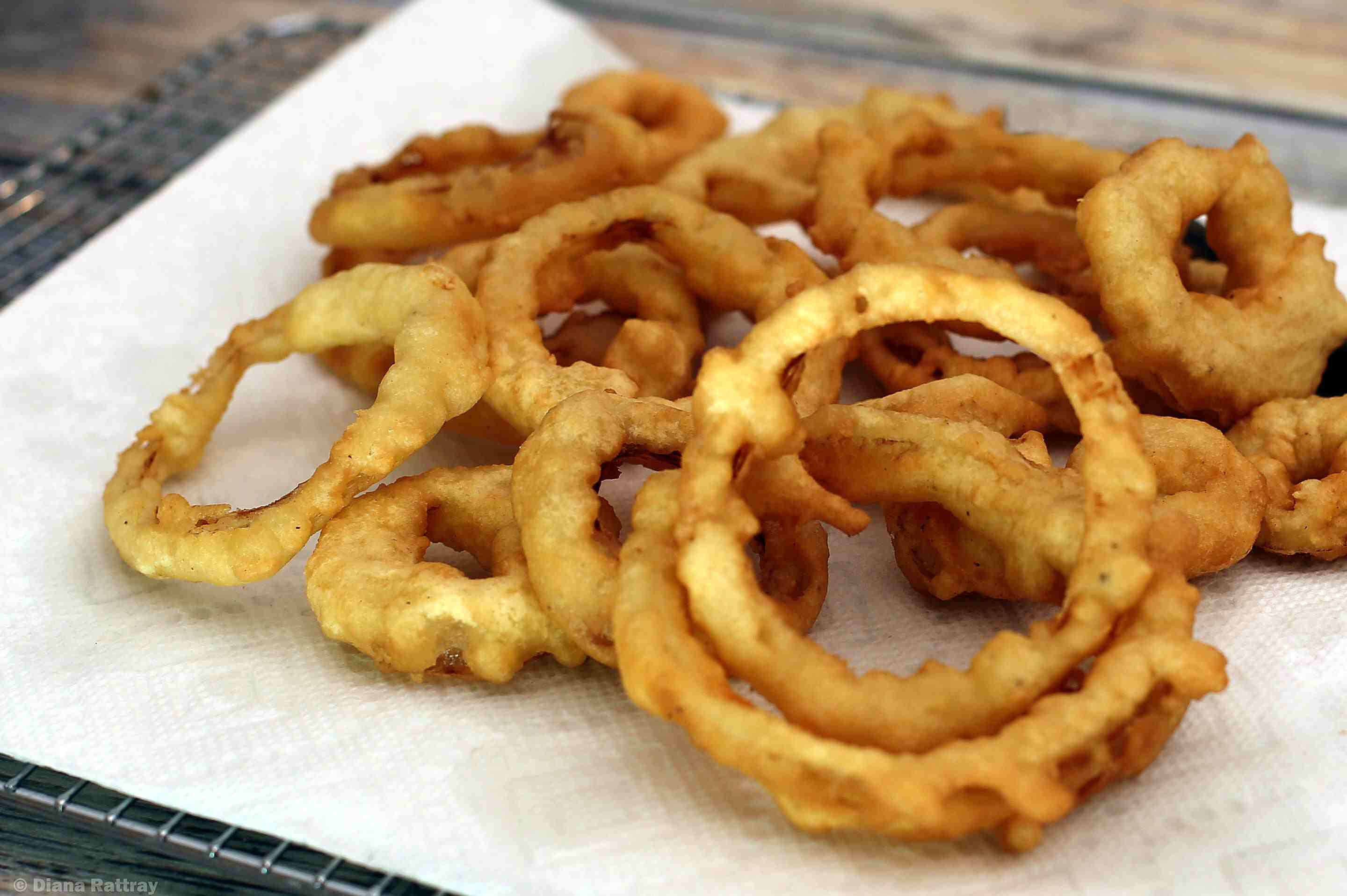 rings aioli with bacon burger beef recipes onion and buttermilk