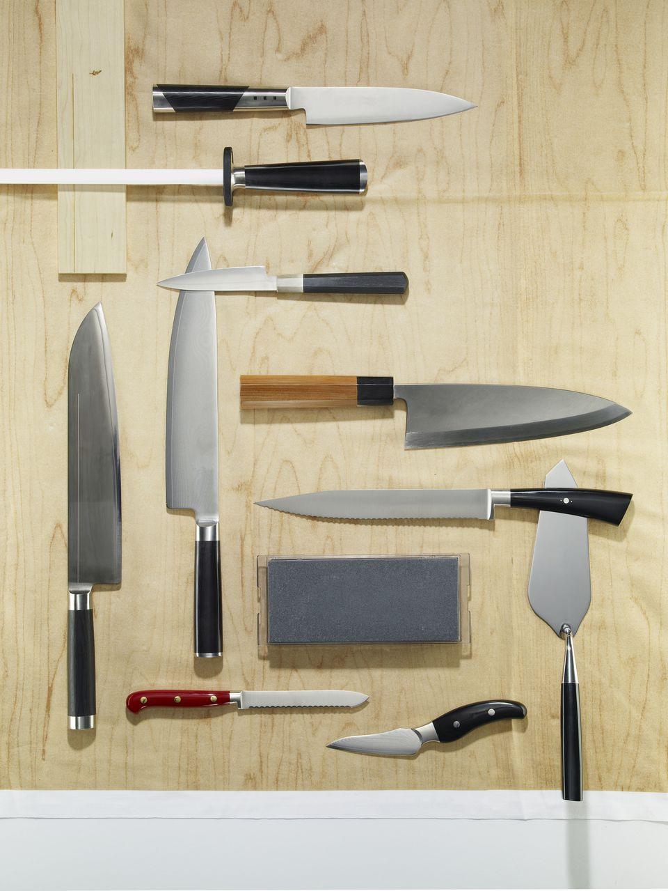 Knife grid