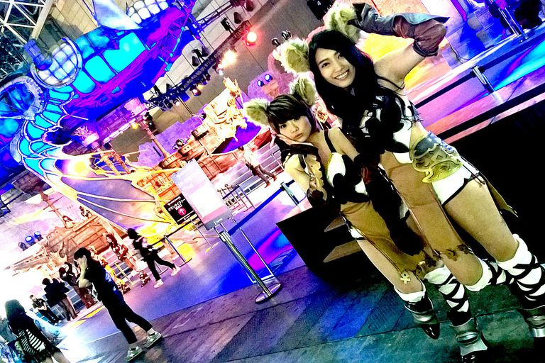 TGS 2015 Cosplay