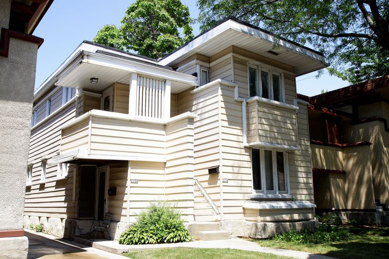 vinyl house siding. a Frank Lloyd Wright apartment duplex obscured by vinyl siding and other  inappropriate remodeling What s the Truth About Vinyl Siding