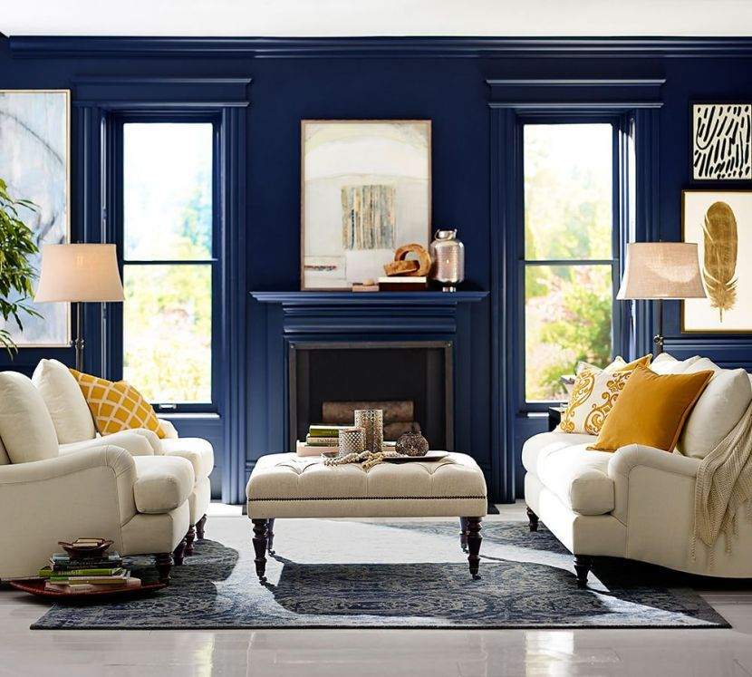 Interior Design Painting Walls Living Room interior design painting walls living room inspiring goodly best living room colors ideas on pinterest popular Deep Blue Living Room