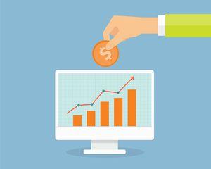 Computer image of building a retirement portfolio
