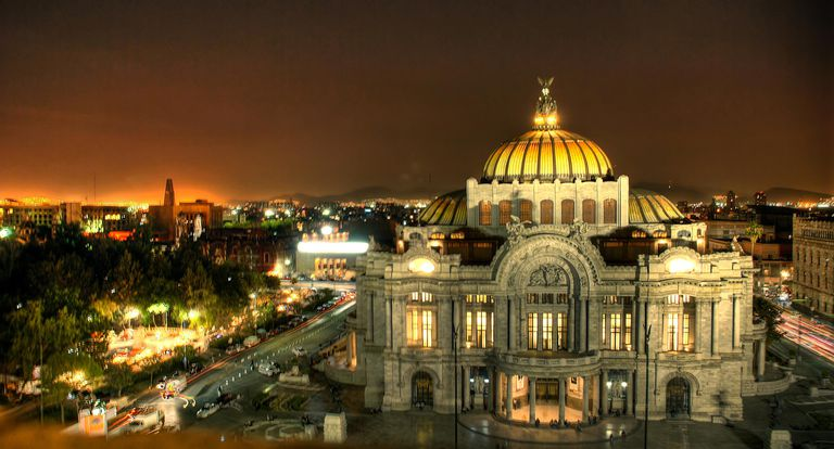Fine Arts Palace in Mexico