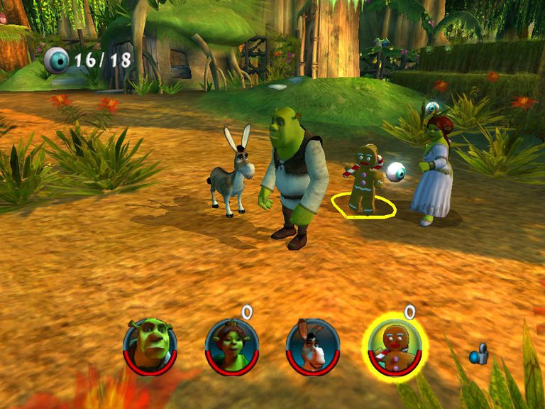 Shrek 2 The Game Screenshot