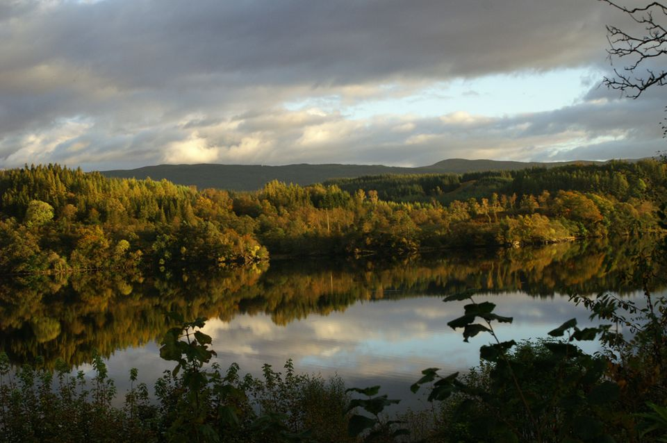 Loch Awe in October