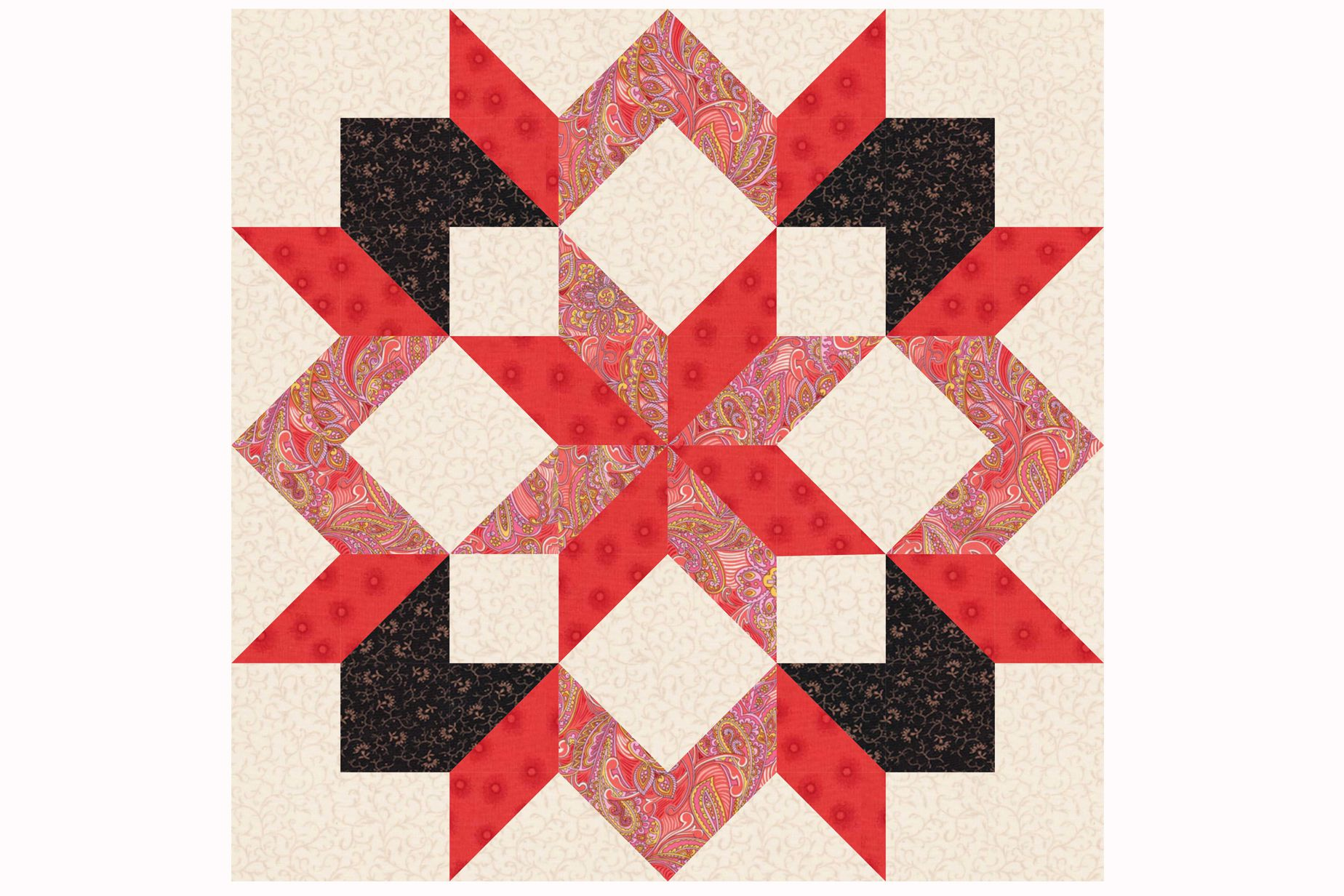 Design a Quilt With These Free Quilt Block Patterns : star blocks for quilts - Adamdwight.com