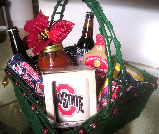 How Make A Cleveland Gift Basket