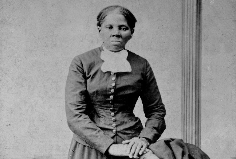 Photographic portrait of Harriet Tubman