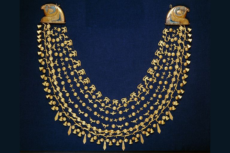 Egyptian gold collar