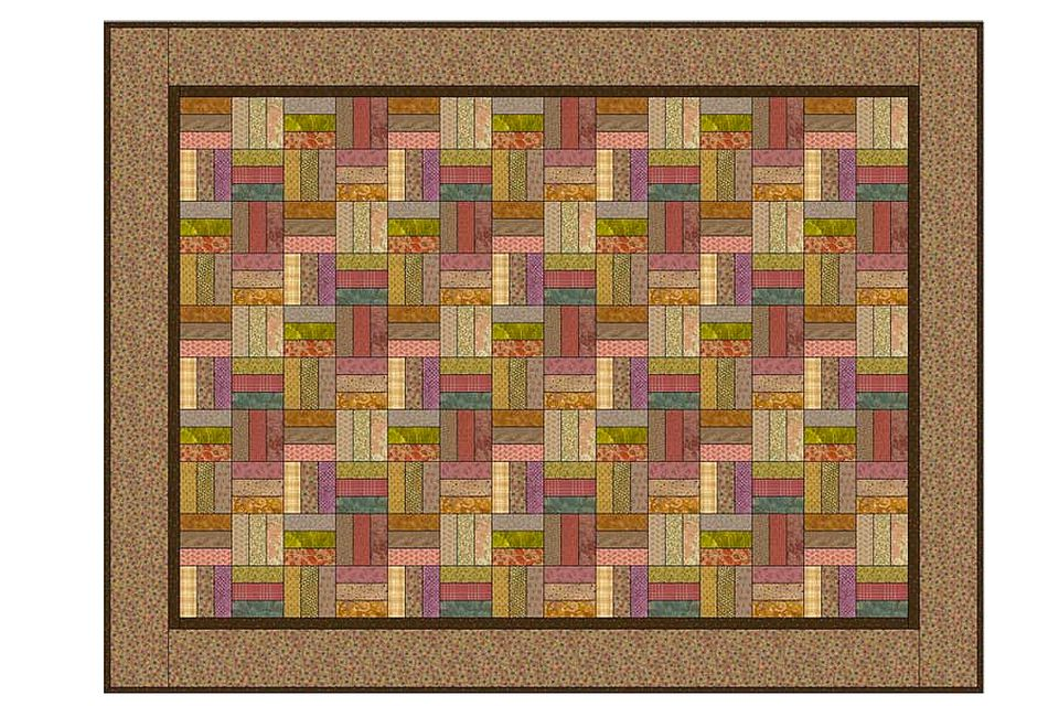 Easy Roman Square Quilt and Quilt Block Pattern : square quilt - Adamdwight.com