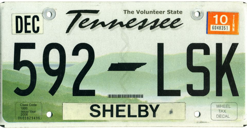 Registering Your Car in Shelby County, Tennessee
