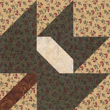 Album Leaf Quilt Block Pattern