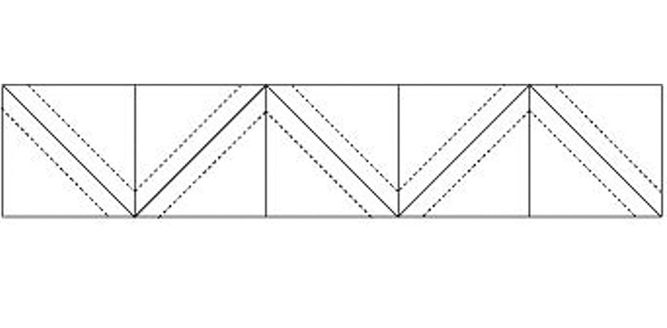 How To Make Half Square Triangle Units On A Grid