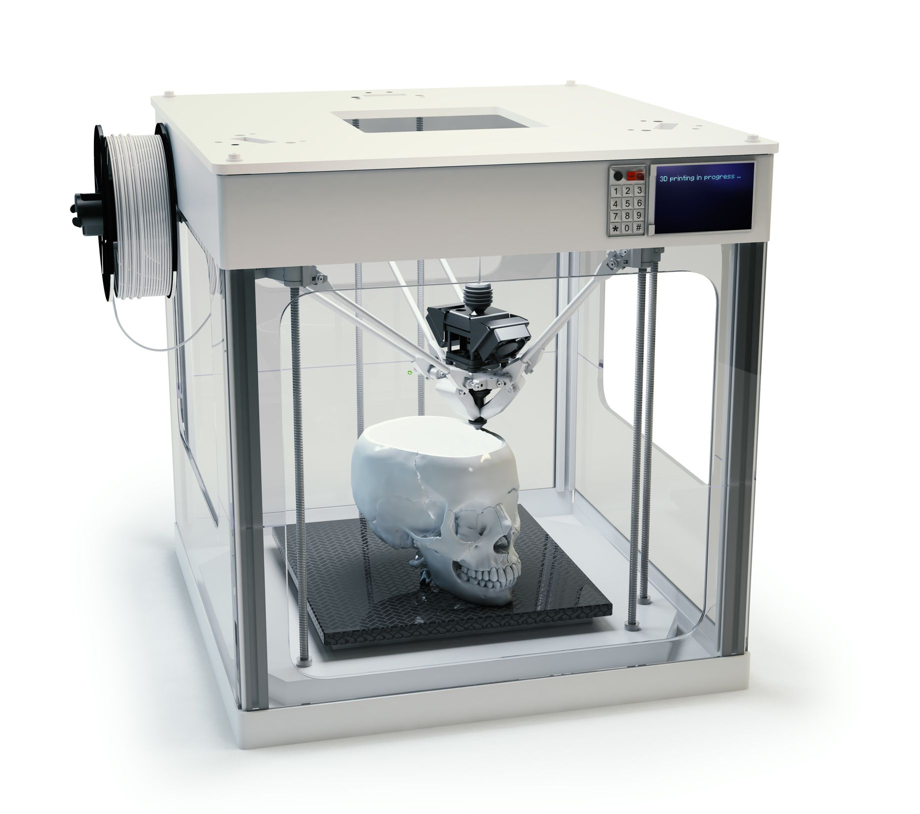 This is an image of Bright Printable 3d Printer