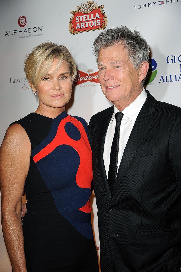 Yolanda Hadid and David Foster