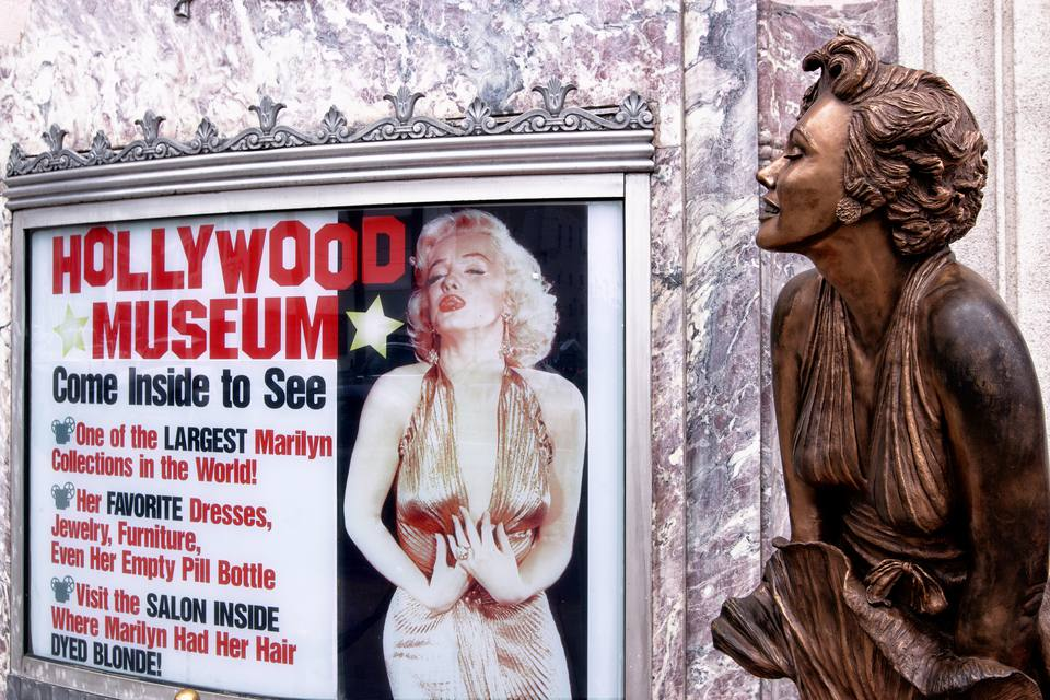 Hollywood museum entrance