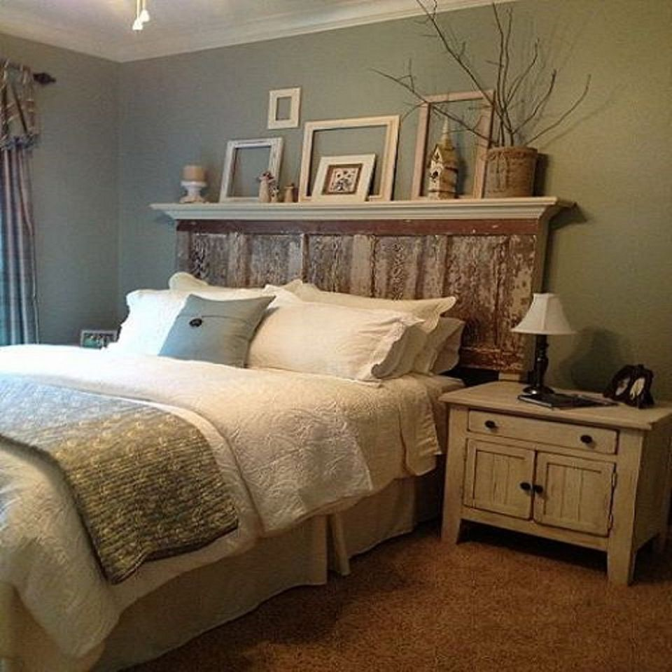 Vintage bedroom decorating ideas and photos for Bedroom bed decoration