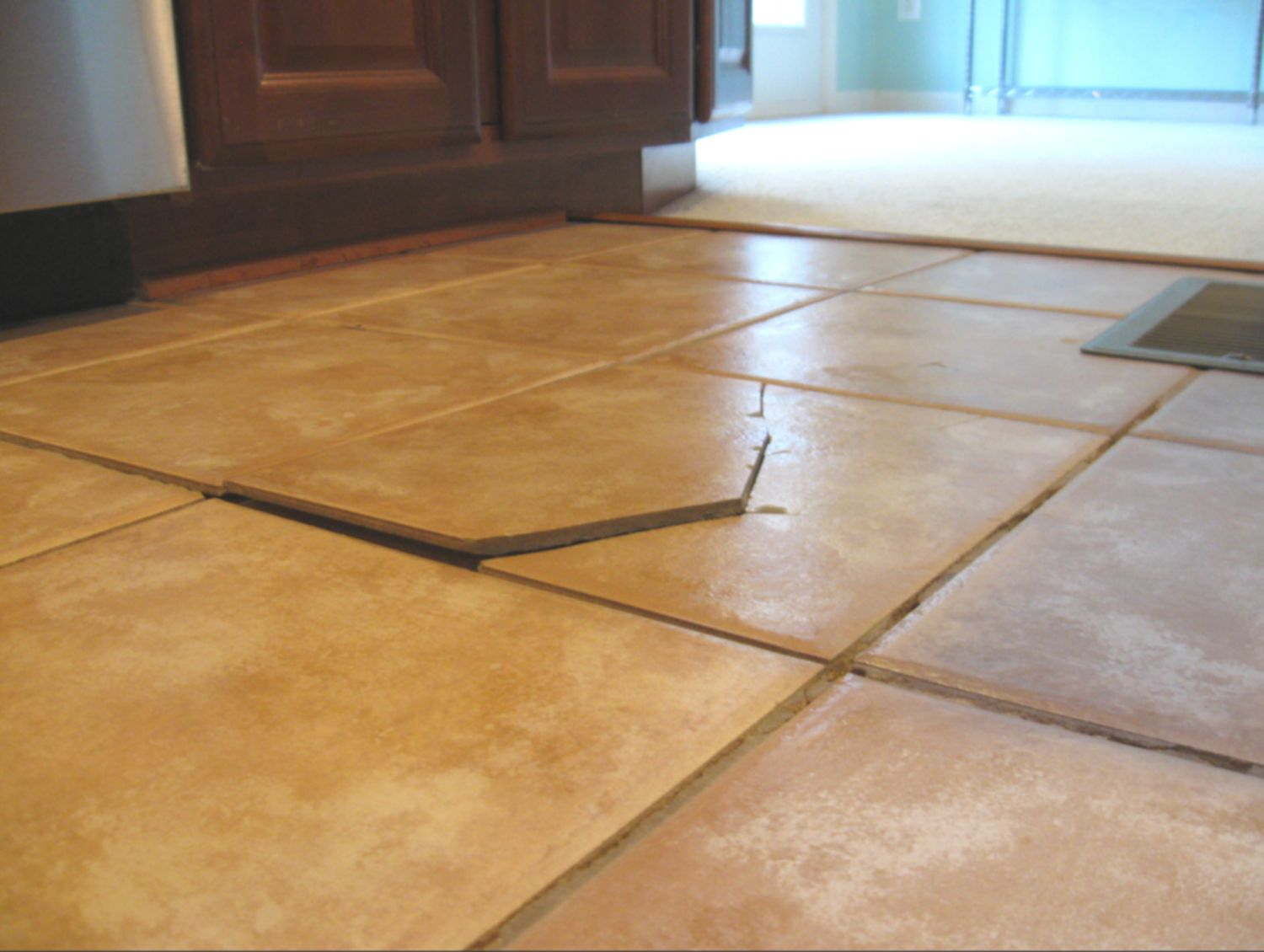 Learn about tile floor transitions bridge the gap your tile floor is cracked this is why dailygadgetfo Choice Image