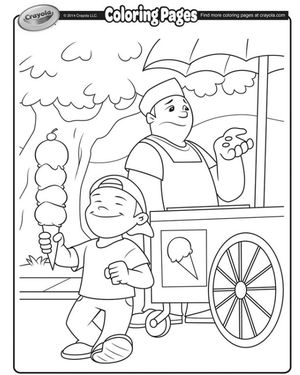 crayolas spring coloring pages - Free Spring Coloring Pages