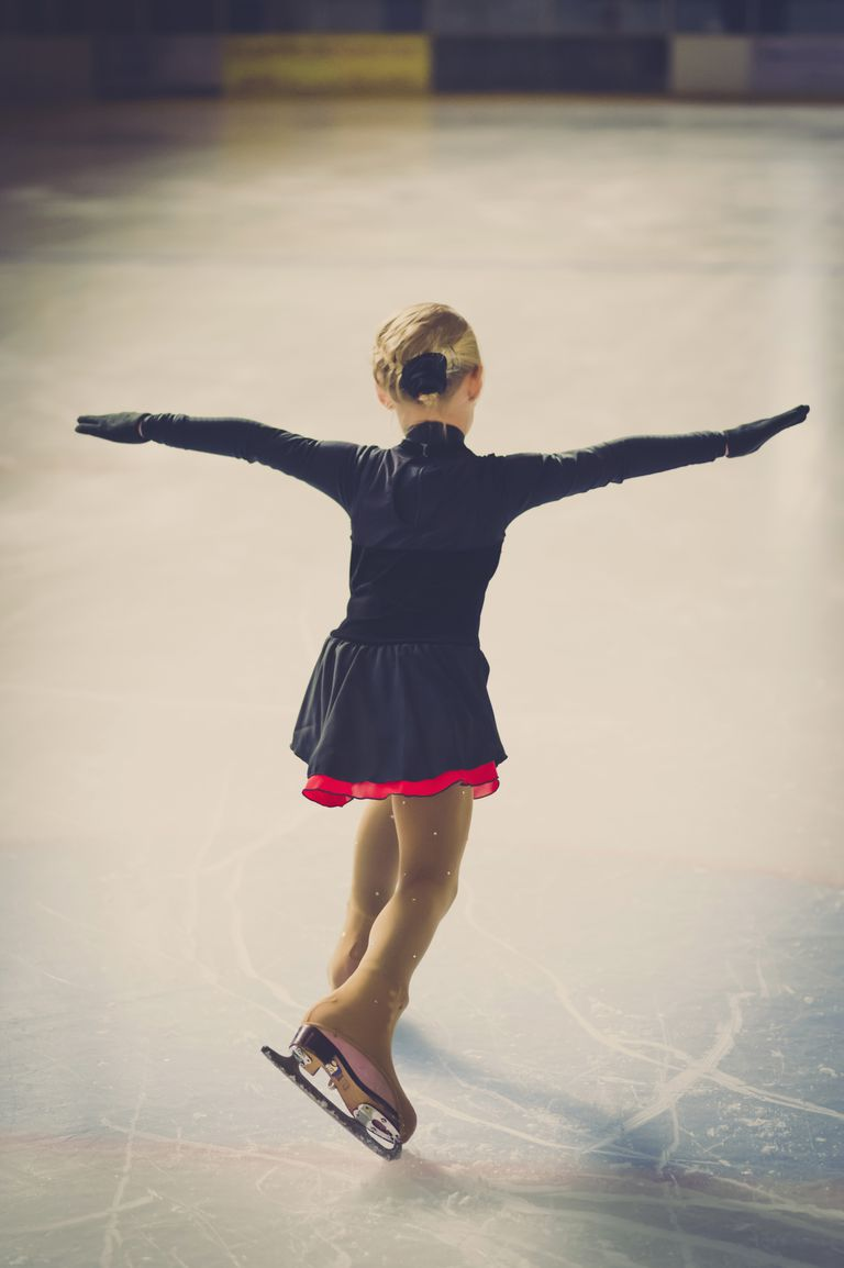 A Young Figure Skater