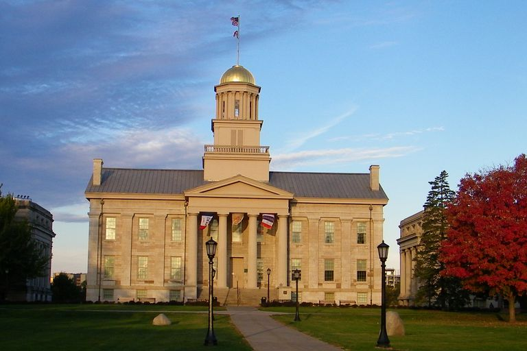 Old Capitol at the University of Iowa