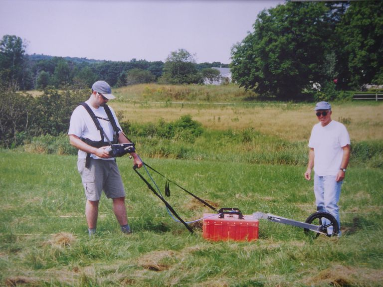 Ground-penetrating radar survey of the site of the Robert Given homestead
