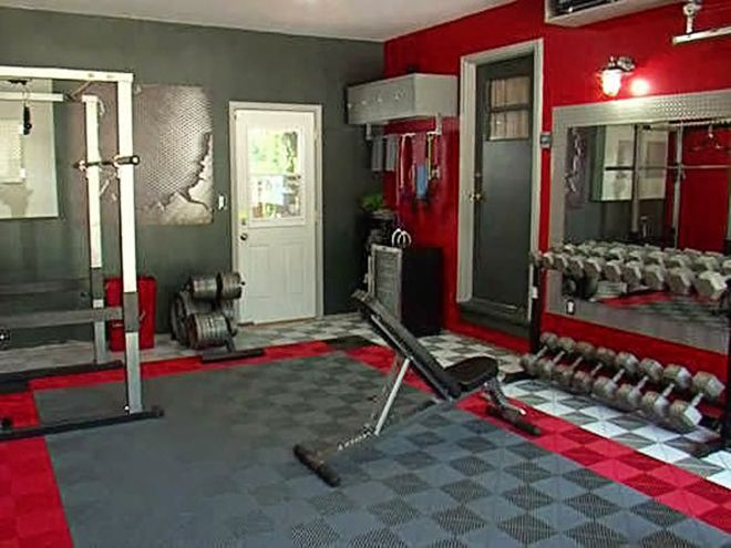 Creating a gym in your garage