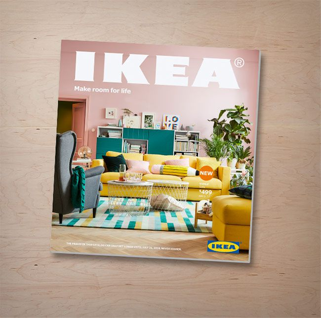 How To Request A Free IKEA Catalog For 2018