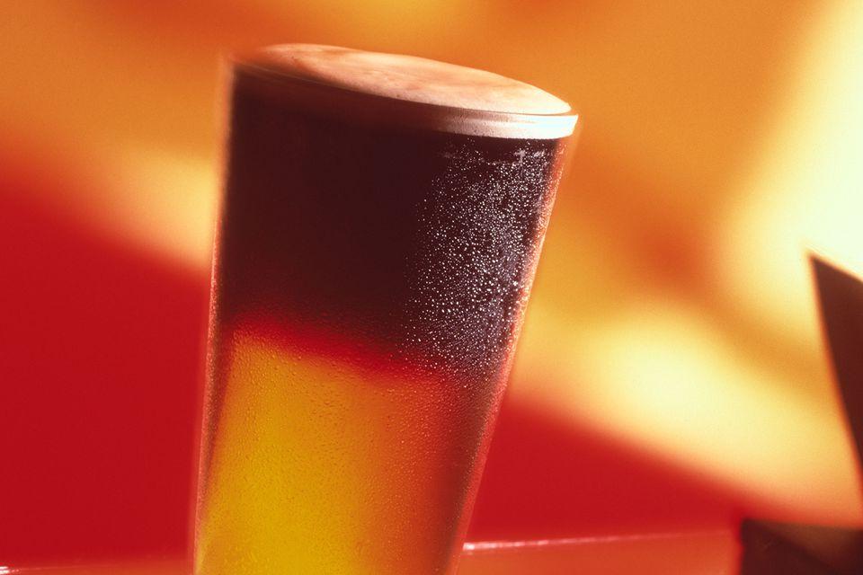 Black and Tan Beer Drink