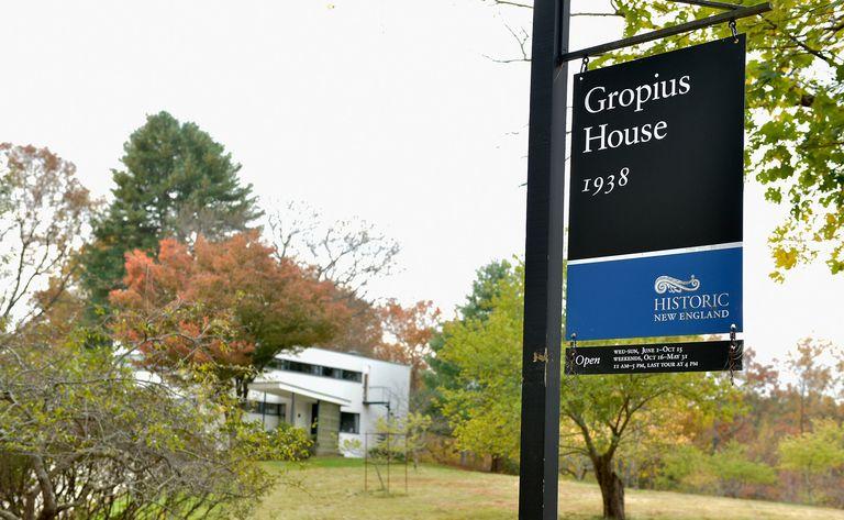 Gropius House, 1938, Historic New England House Tour in Lincoln, Massachusetts