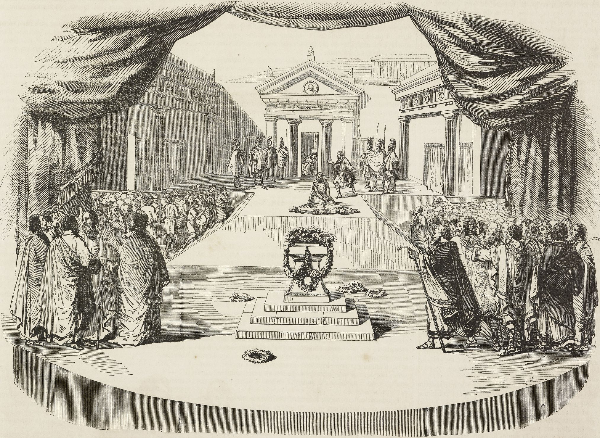 traditional society in the play antigone by sophocles The order in witch sophocles wrote them is - antigone, oedipus the king, and oedipus at colonus  antigone antigone is another important play, written by sophocles.