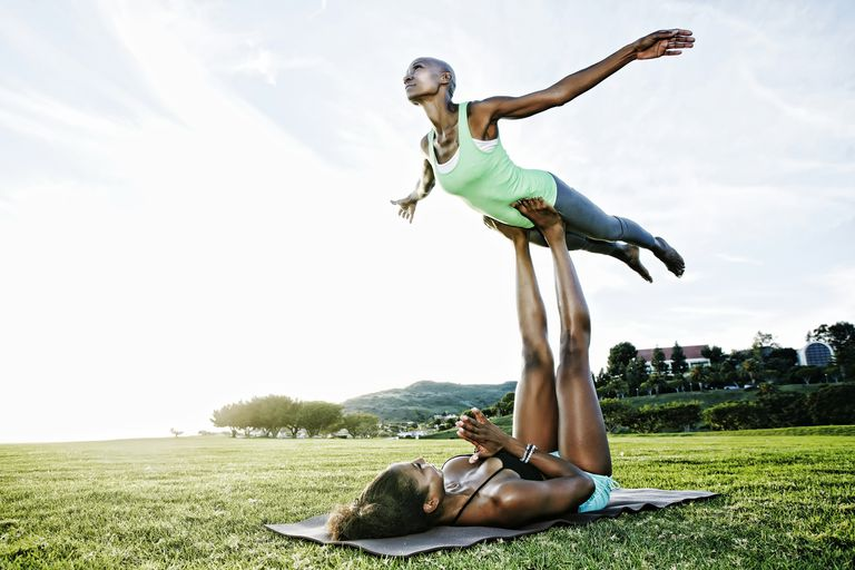 AcroYoga Outside