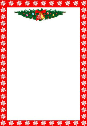 holiday border clip art for word  487 Free Christmas Borders and Frames