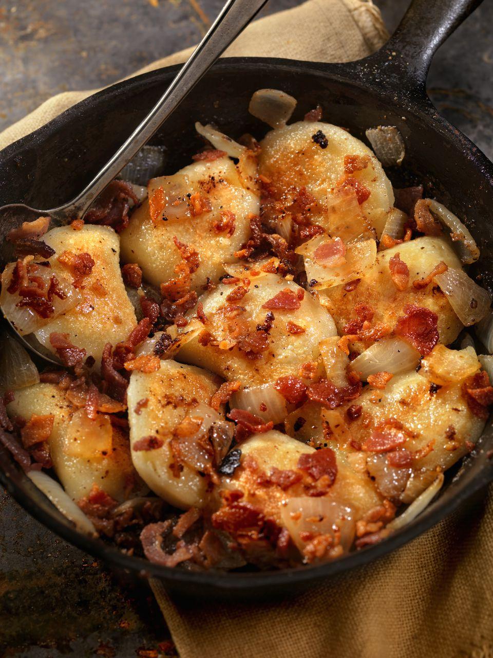 Pan Fried Pierogies