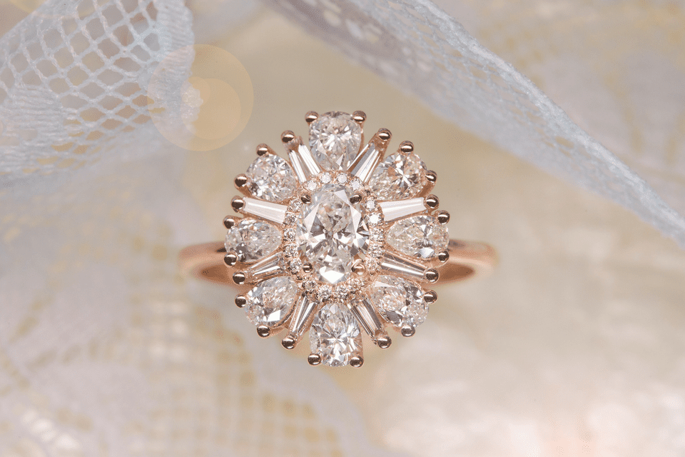 the most ravishing rose gold engagement rings on the planet - Rose Wedding Rings
