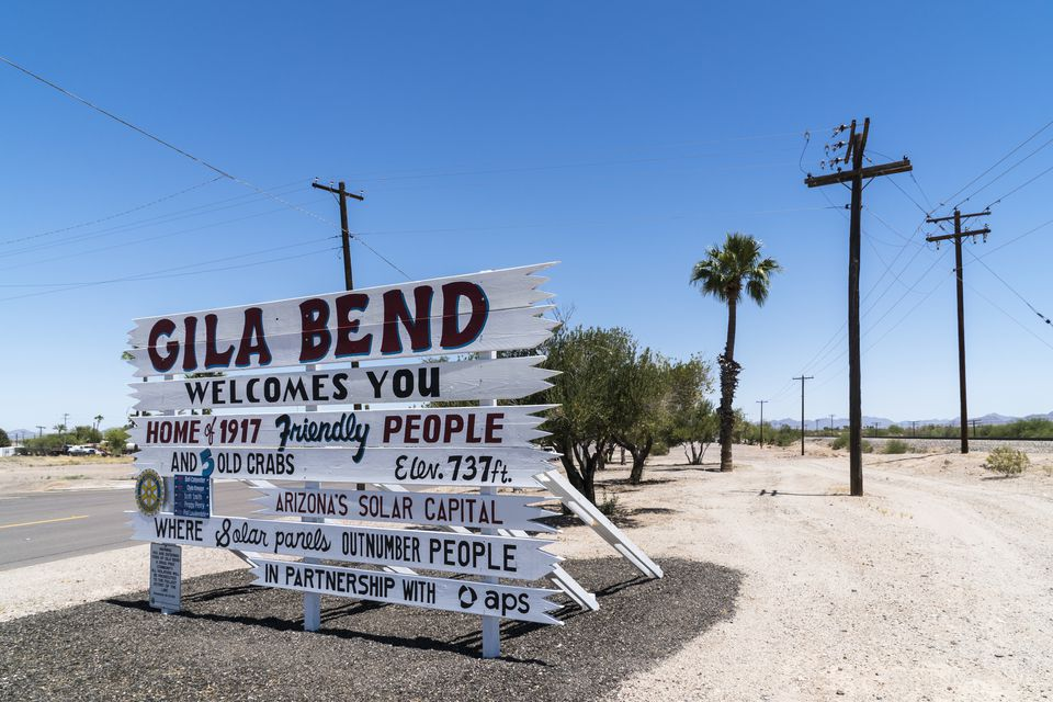 Gila Bend Arizona Southwestern USA