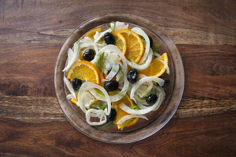 Fennel salad.