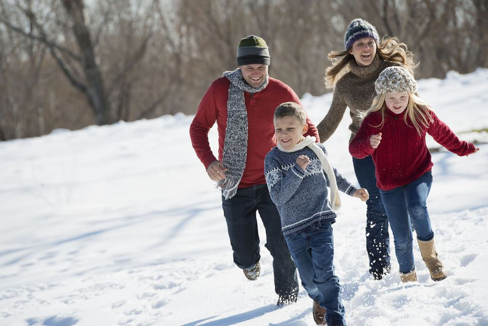 Family Run Winter