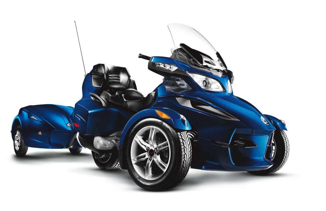 2009 Brp Can Am Spyder Se5 Review