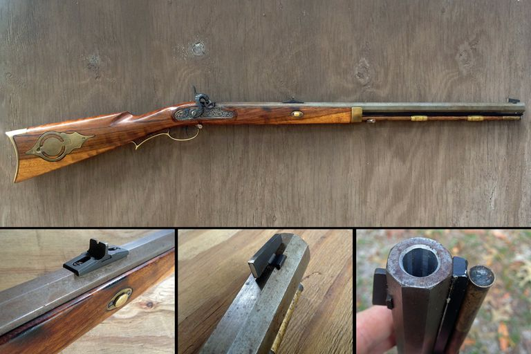 50-Caliber Hawken Muzzleloader brought back to life by my father